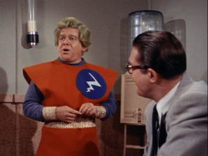 "Still from ""Mr. Zero"" from ""the Adventures of Superman"""