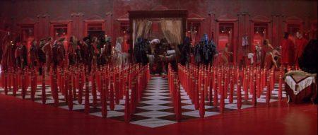 Still from The Baby of Macon (1993)