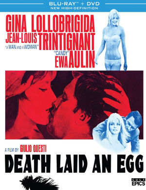 Cover for Death Laid an Egg Blu-ray