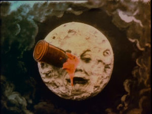 Still from restored A Trip to the Moon (1902)