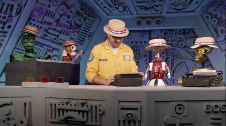 """Still from """"Mystery Science Theater 3000: The Gauntlet"""" (2018)"""