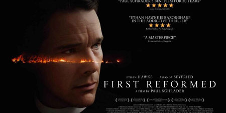 Ad for First Reformed