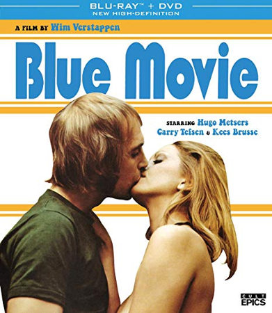 Blue Movie (1971) Blu-ray cover