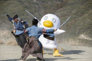 Still from Gintama 2: Rules Are Made to Be Broken (2018)