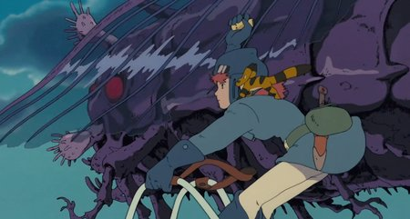 Still from Nausicaa of the Valley of the Wind (1984)