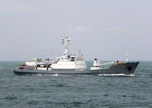 Российский военный корабль затонул у берегов Турции