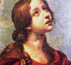 Meditazine devozionale Santa Lucia - Carlo Dolci