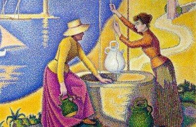 Paul Signac Femmes au puits 1892