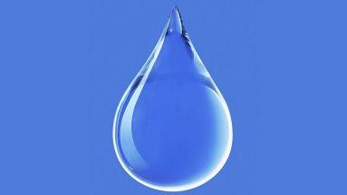 Goccia d'acqua blue