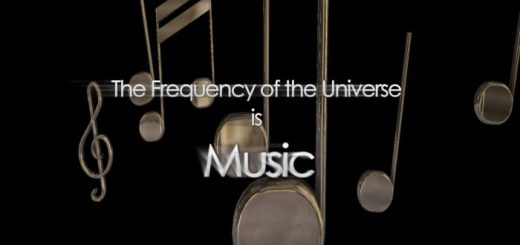 The Frequency of the Universe is Music
