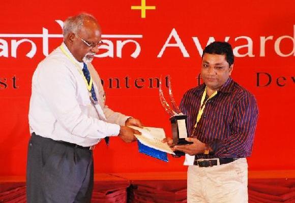 36garh.in chief gets Manthan award