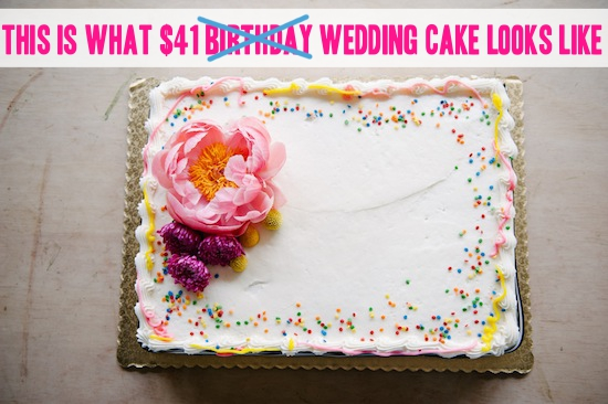 How To  Make a Wedding Cake for Under  50 Using a Grocery Store     Photos