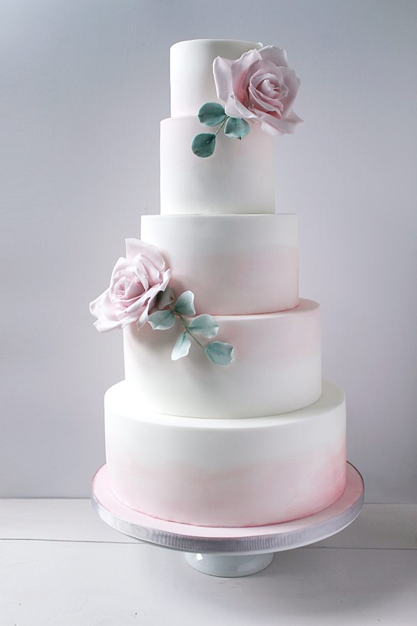 Wedding Cake Ideas That Are Delightfully Perfect   A Practical Wedding pink floral wedding cake