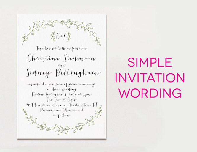 25 New Wedding Invitation Message Sample