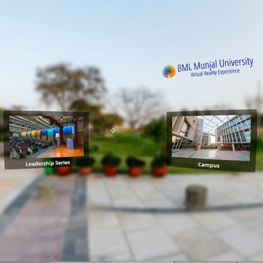 Virtual Reality for BML Munjal University