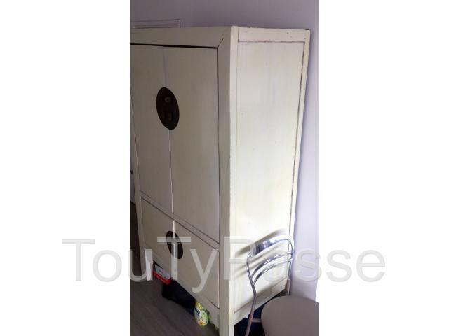 Armoire De Mariage Chinoise Blanc
