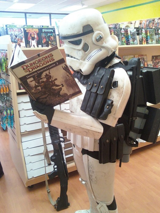 Even Stormtrooper enjoy D&D
