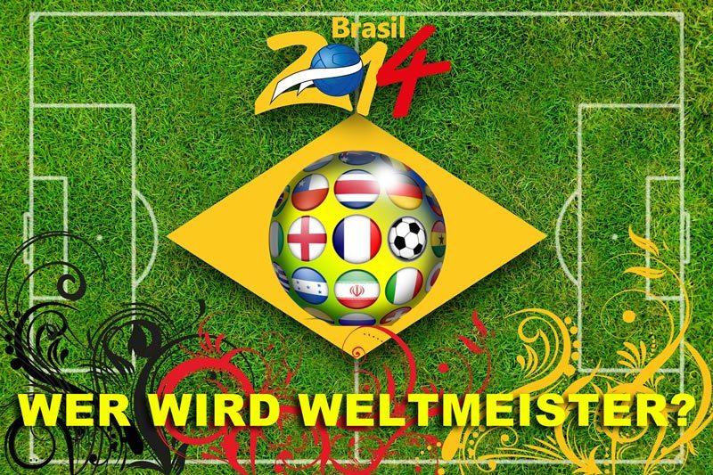 WM-Fieber – Wer wirdWeltmeister?</p><br /><br /><br /><br /><br /><br /><br /><br /><br /><br /><br /><br /><br /><br /><br /><br /><br /><br /><br /><br /><br /><br /><br /> <p>Die 20. Fußball-Weltmeisterschaft läuft mittlerweile auf Hochtouren. Die ersten Spiele haben tollen Fußball geboten und vielerorts wird heftig diskutiert, wer denn 2014 den größten Titel, den es im Sport zu gewinnen gibt, holt.