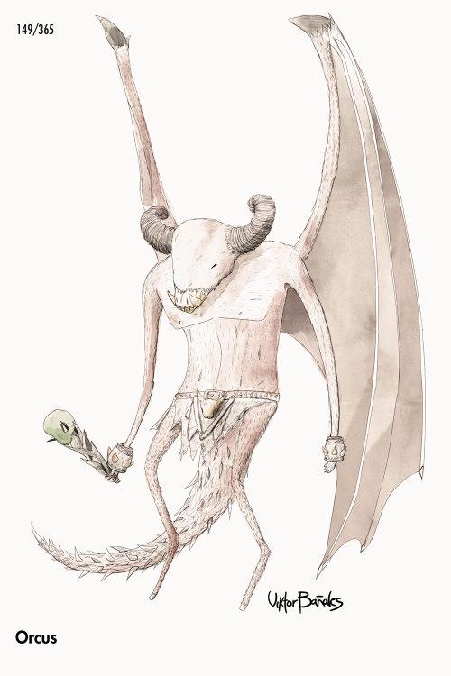 Orcus, Príncipe demoníaco de los no-muertos