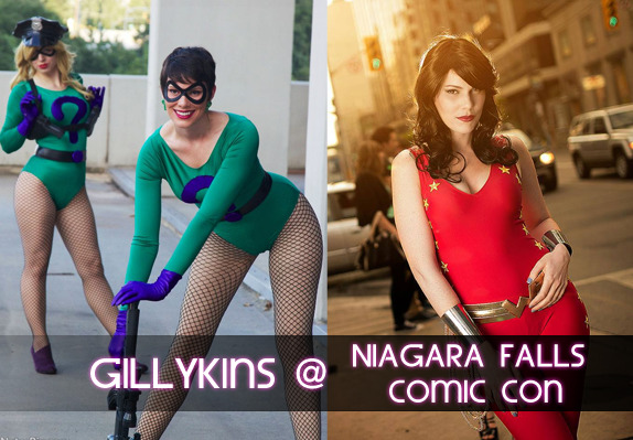 This weekend is Niagara Falls Comic Con! I'll be working the Cosplay for A Cure booth all weekend, making me nice and easy to find  Saturday: Query and Echo  Sunday: Wonder Girl