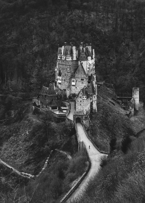 detestably:</p> <p>A beautiful castle.<br /> It stands alone and deserted.<br /> What stories could it reveal to us?<br /> How many lives have passed through<br /> its majestic halls?<br /> Has there been dancing in its rooms?<br /> Or have sadness and death pervaded<br /> its stone walls?<br /> Go inside and listen to its story.<br /> Listen to the sighs and whispers,<br /> emanating from its dark rooms.<br /> What do you hear?<br /> I can hear both sadness and joy<br /> mixed together in its soft sighs.<br /> All you have to do is listen.</p> <p>