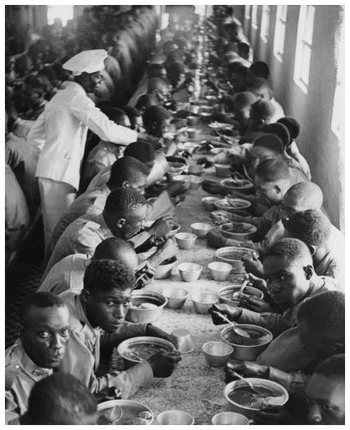 :Haitian Soldiers, Haiti c.1950