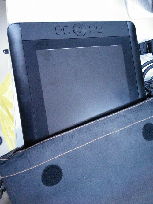 Cintiq 13 hd Looks like a normal Intuos when not turning on