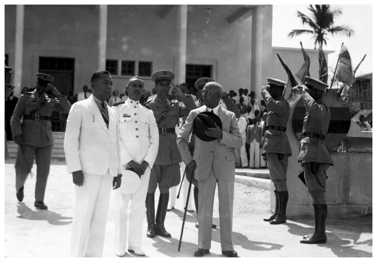 President Sténio Vincent, Haiti c. 1940Sténio Joseph Vincent (February 22, 1874 – September 3, 1959) was President of Haiti from November 18, 1930 to May 15, 1941.