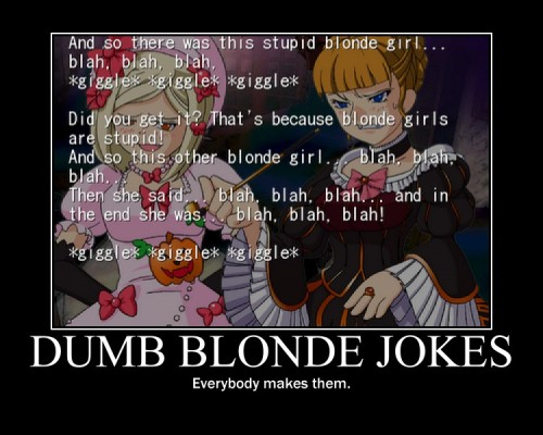 Why Are Blondes Dumb