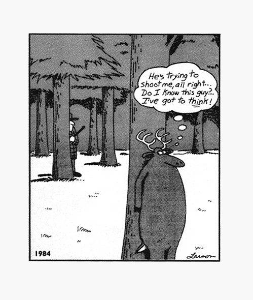 Best Far Side Deer Cartoons