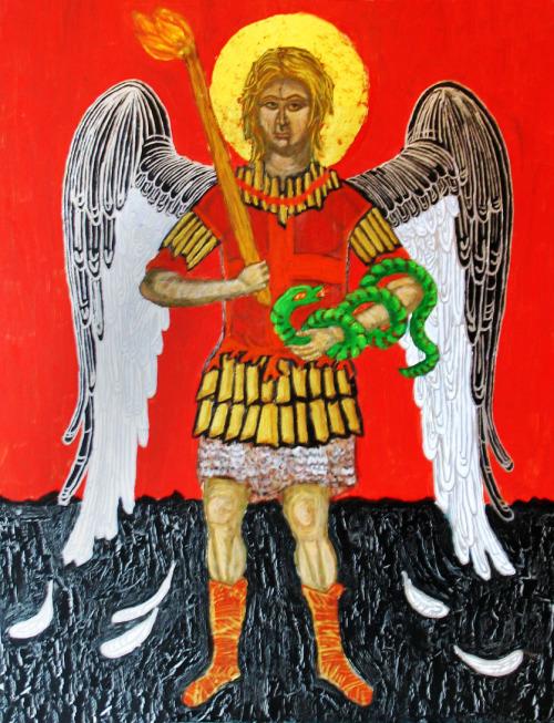 Fallen Angel Lucifer by Sara Star aka Spiritscraft-me.