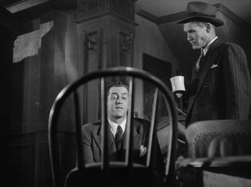 (via Coffee coffee and more coffee: Coffee Break)</p><br /> <p>Raymond Burr and William Challee in Desperate (Anthony Mann - 1947)<br /><br />