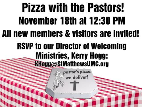 St. Matthew's United Methodist Church Blog — Are you a ...