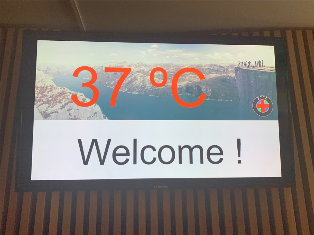 37 °C Health Tech 17-18 JUN 19 welcome