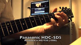 Recorded Using Panasonic HDC-SD5