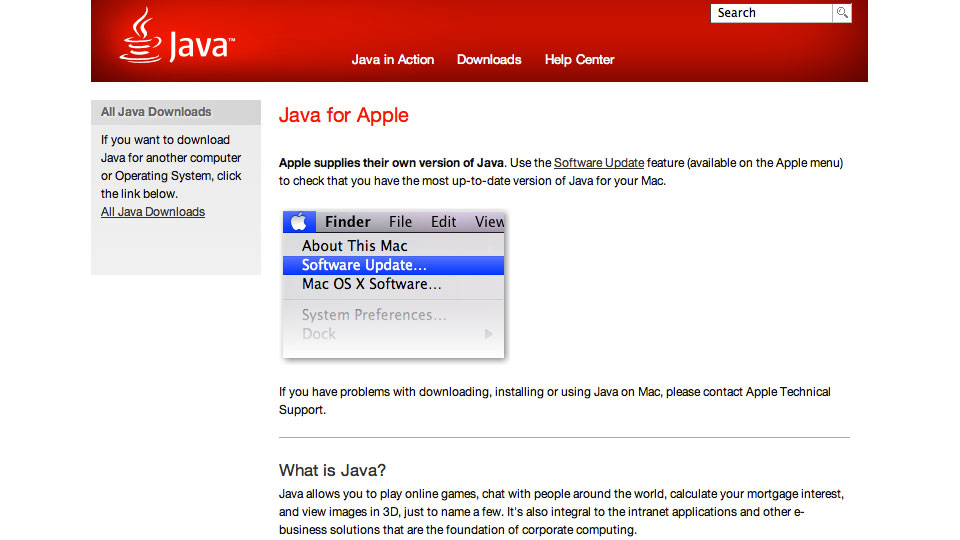 Java For Mac Os X 6