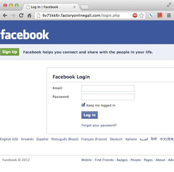 Fake-Facebook
