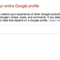 Downgrade from Google+