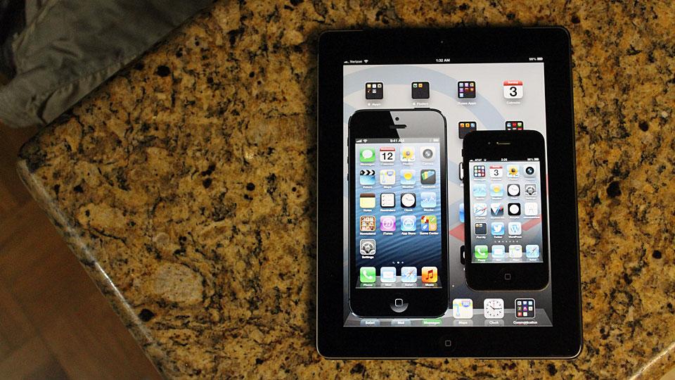 Larger iPhone mockup