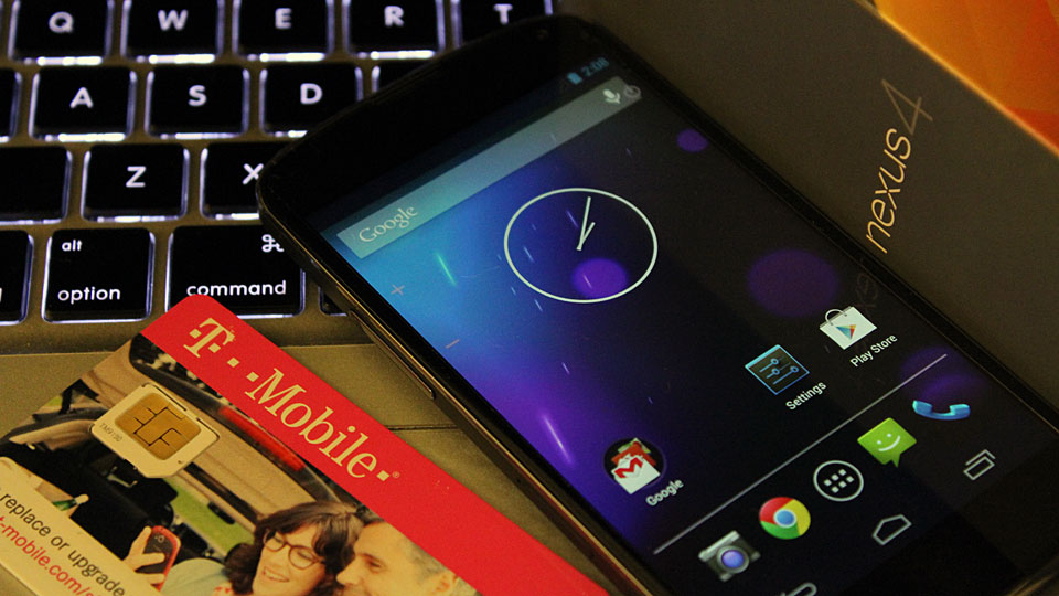 Nexus 4 and T-Mobile Micro SIM Card