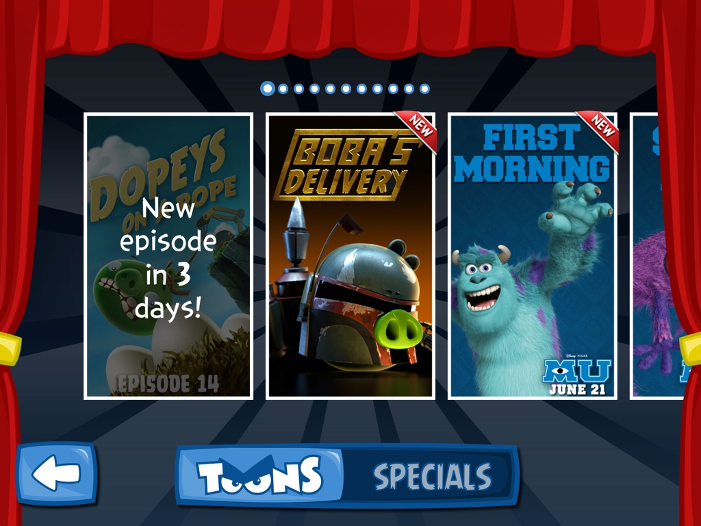 Angry Birds Star Wars Boba's Delivery