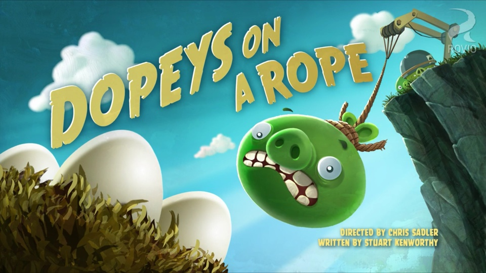 Angry Birds Toons Dopeys On A Rope