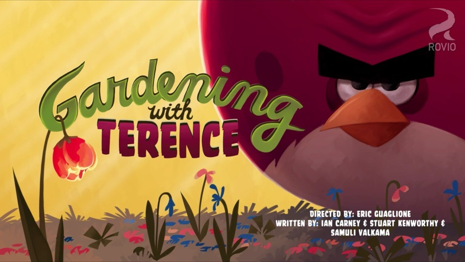 Angry Birds Toons: Gardening With Terence