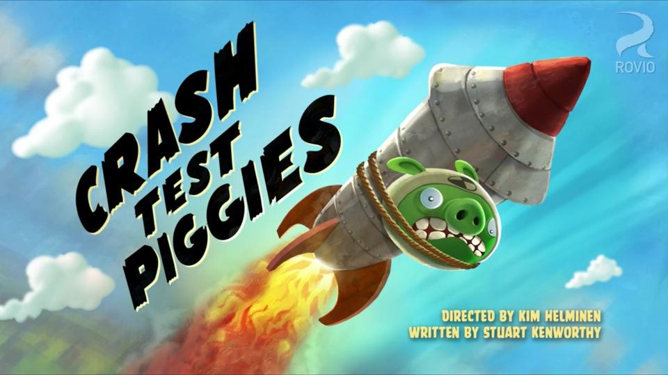 Angry Birds Toons Crash Test Piggies