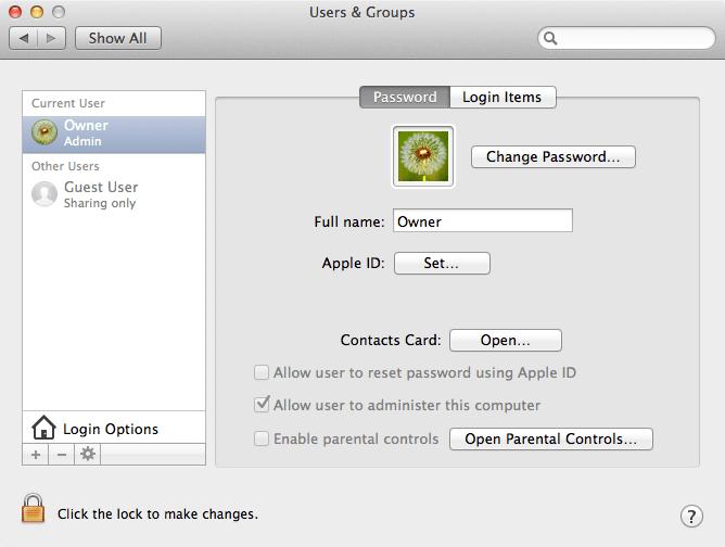 MacBook Pro Setup Owner
