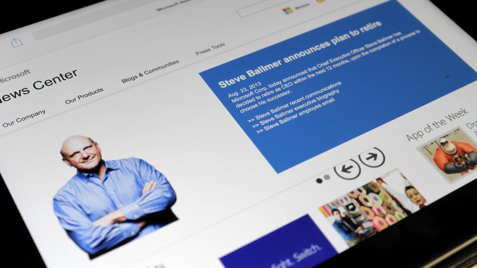 Steve Ballmer to Retire ftom being Microsoft CEO