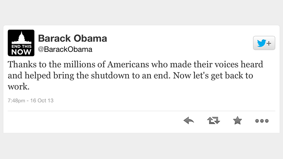 Barack-Obama-Tweet-Government-Shutdown-Ends