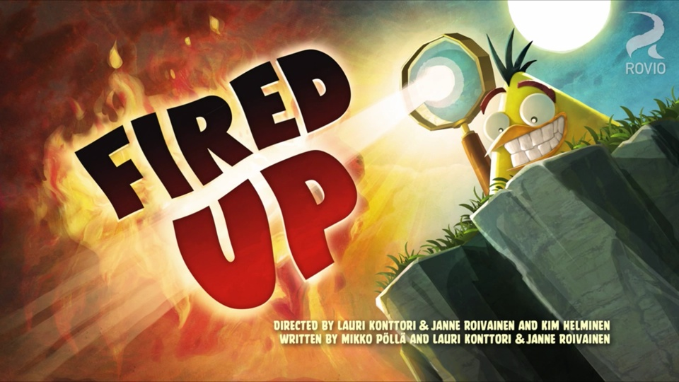 Angry Birds Toons Fired Up