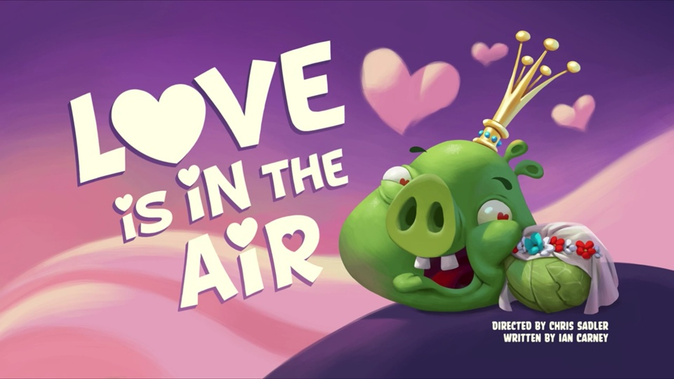 Angry Birds Toons Love Is In The Air