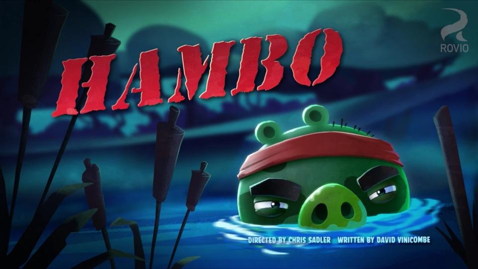 Angry Birds Toons Hambo